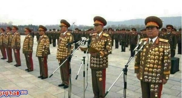 Look at how good these soldiers from North Korea are.