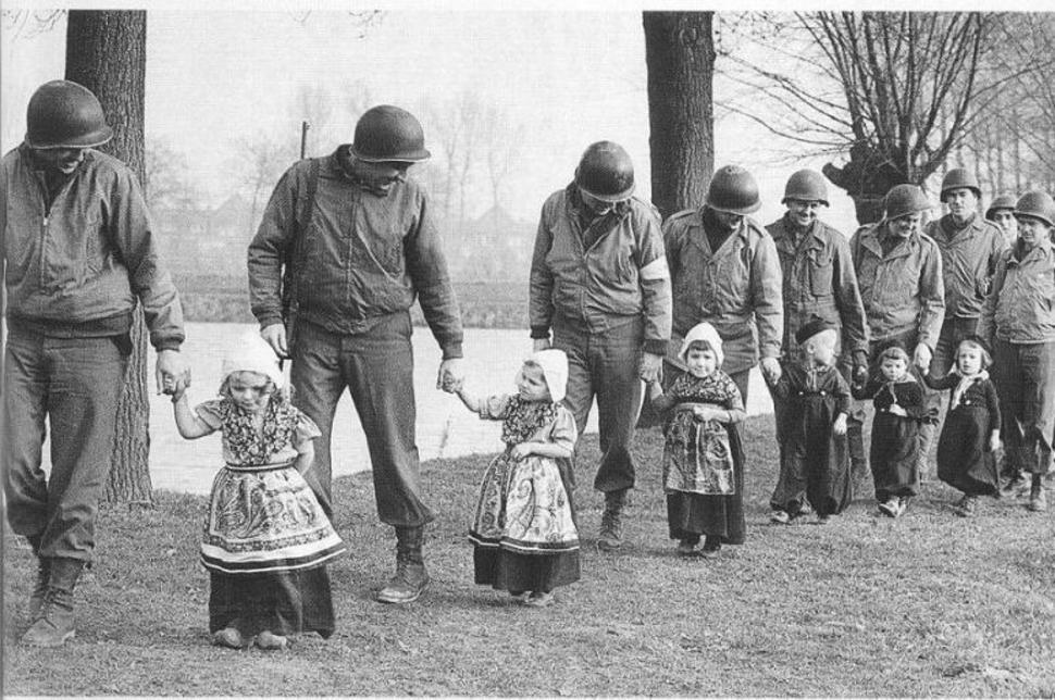 No wonder Dutch women prefer American soldiers.